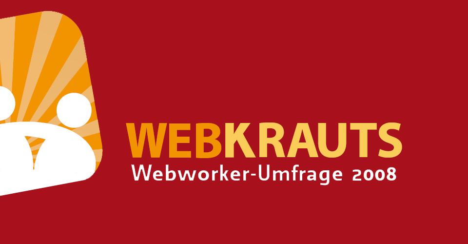 Logo Webkrauts Umfrage