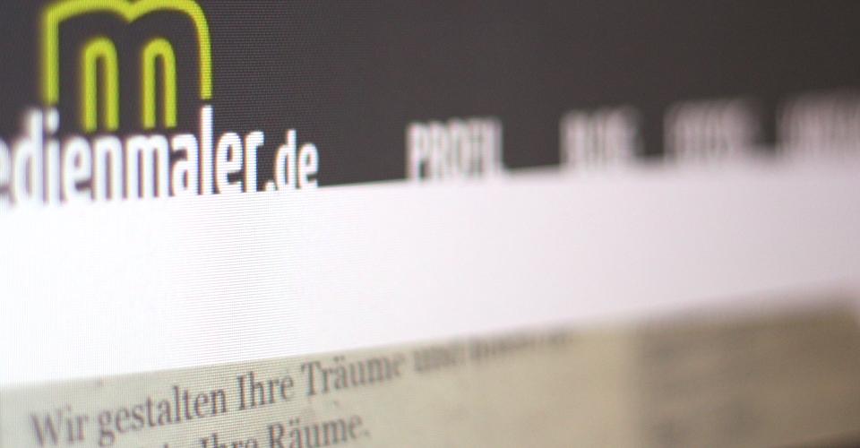 Neue Webseite von medienmaler.de