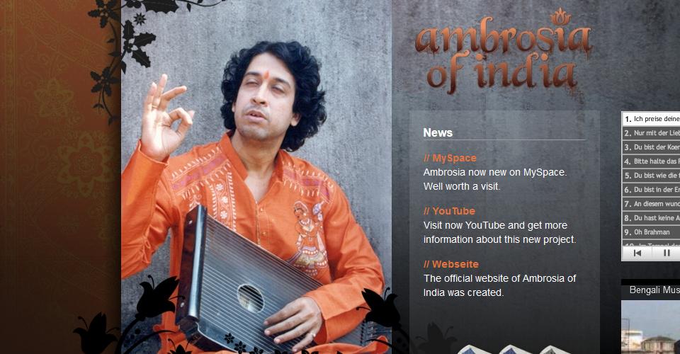 Webseite ambrosiaofindia.com