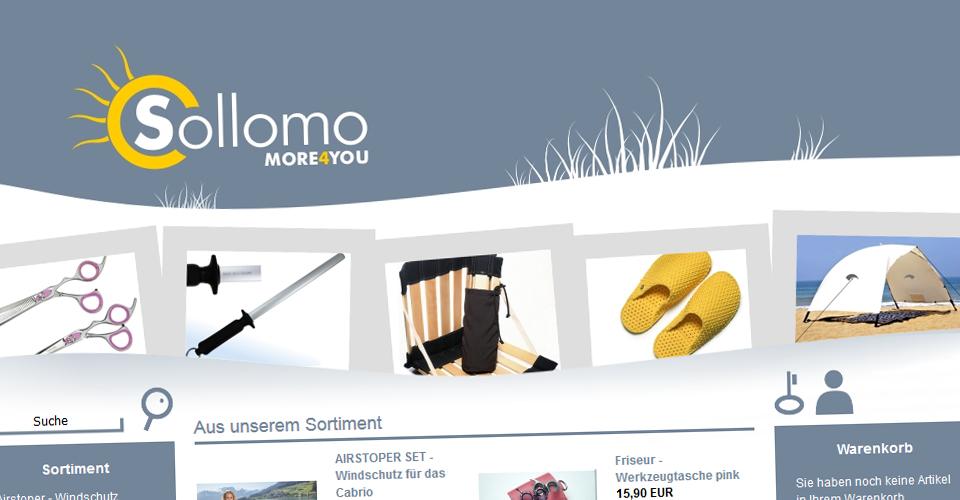 Webshop sollomo.de