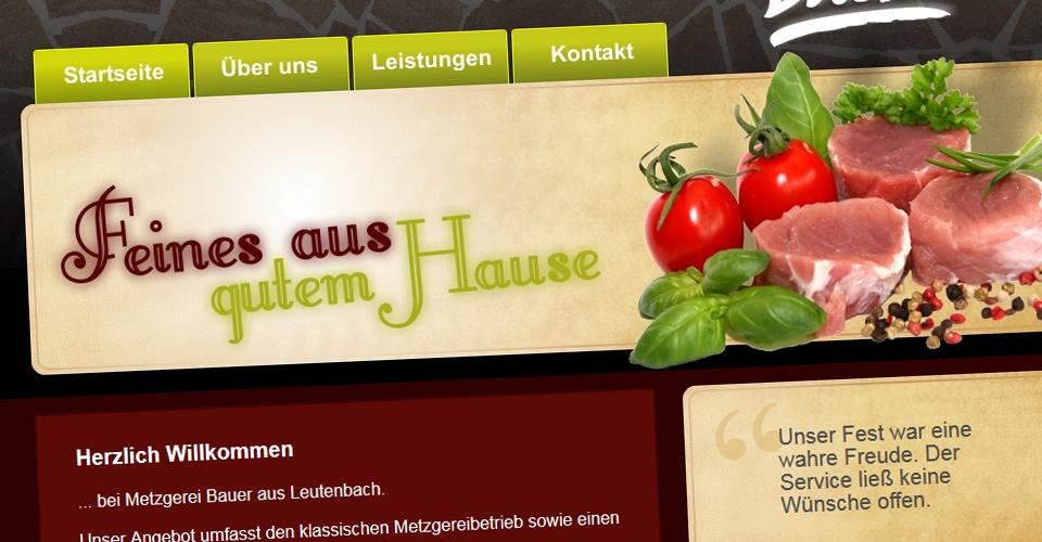 Webseite metzgereibauer.de
