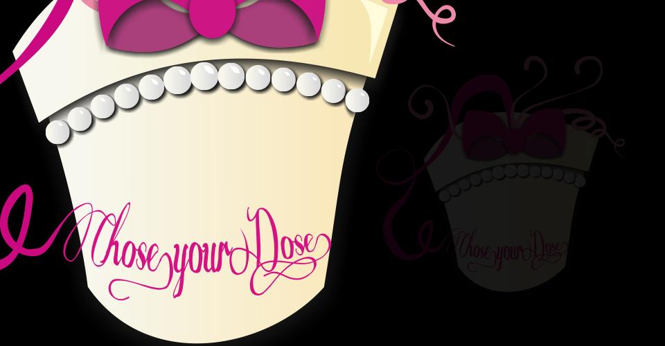 Logo für die Geschäftsidee Chose your Dose