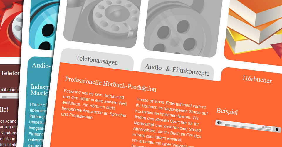 Audioservice des Tonstudios House of Music in Winterbach