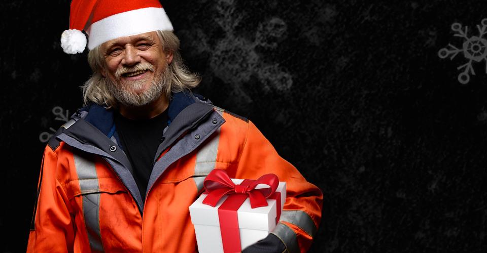 Weihnachtsmontage für Firma Kübler Workwear aus Plüderhausen
