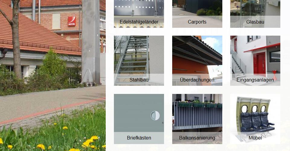 Webseite von VSM-Metallbau