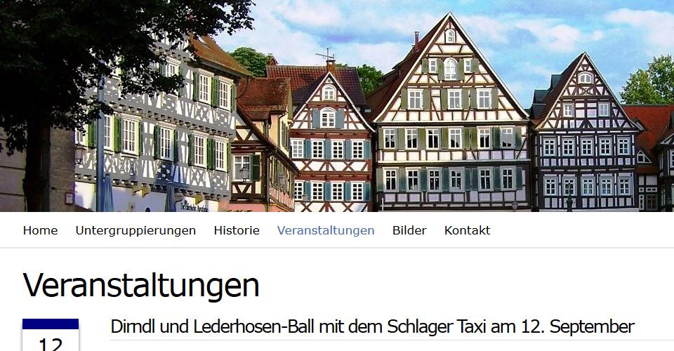 Webseite der Siebenbürgen Sachsen Kreisgruppe Schorndorf