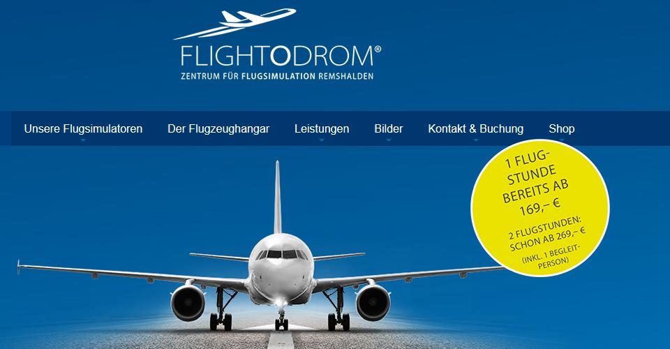Flightodrom Flugsimulation